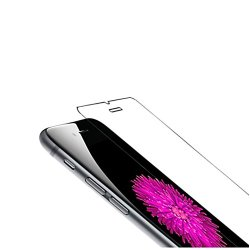 Tannc® Premium Explosion-Proof Tempered Glass Screen Protector Ultra-Thin 0.26Mm Glass Protective Film For Iphone 6 (4.7 Inch Only), High Definition Rounded Edge Hardness Up To 9H (Harder Than A Knife), Anti-Fingerprint, Hight Touch Sensitivity, Lifetime