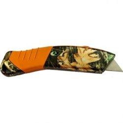 Havercamp Mossy Oak Camo Utiltiy Knife W/Retractable Blade