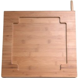 """Cta Ipad(R) Bamboo Adjustable Kitchen Stand With Knife Storage """"Product Category: Ipod Accessories/Mounts"""""""