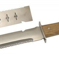 Wholesale Lot 48-Pc Case Mirror Finish Camp Knife Stainless Steel Wood Handle