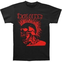 The Exploited - Let'S Start A War T-Shirt (Xx-Large)