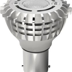 Satco S9005 2 Watt (20 Watt) 120 Lumens Elevator Led Warm White 3000K Light Bulb, Long Life