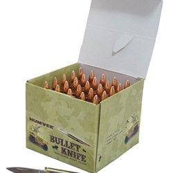 Humvee Hmv-Db-Blt 1.5-Inch Blade Folding Bullet Knife 25-Piece Display