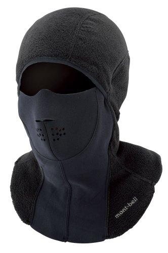 (モンベル)mont-bell ネオプレンフェイスバラクラバ 1108717 BK ブラック S/M
