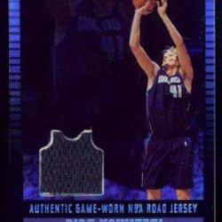 2002-03 Topps Jersey Edition Black #Jedn Dirk Nowitzki R Jsy/99
