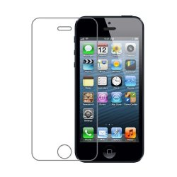 Iphone 5S Screen Protector, Iphone 5 Screen Protector, Iphone 5C Screen Protector, Gtopin 0.26Mm Ultra Thin Anti-Scratch Tempered Glass Screen Protector For Iphone 5S, Iphone 5, Iphone 5C (Iphone 5S/5C/5) - 2.5D Rounded Edges / 9H Hardness Scratchproof /