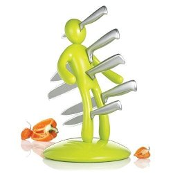 Ricsb Weighted Bottom Apple Green Magnetic Suspension The Ex Kitchen Knife Set