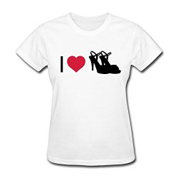 Lfl Women'S Tees Love Shoes L White