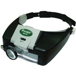 Eclipse Proskit Ma-016 Headband Led Magnifier -2 Pack