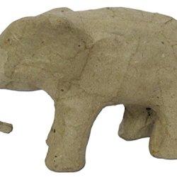 Paper Mache Mini Elephant 3 In. By Craft Pedlars
