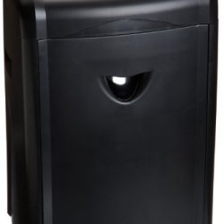 Amazonbasics 12-Sheet High Security Micro-Cut Paper, Cd, And Credit Card Shredder With Pullout Basket