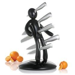The Ex Kitchen Knife Set By Raffaele Iannello, Black, Garden, Lawn, Maintenance