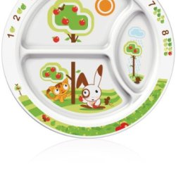 Philips Avent Bpa Free Toddler Divider Plate, 12+ Months
