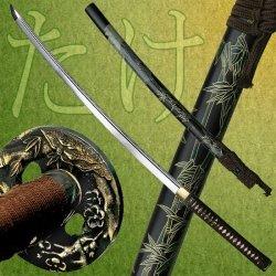 Ryumon Ry-3202 Hand Forged Samurai Sword 41.5-Inch Overall