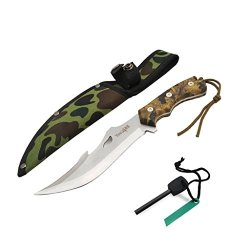 Yes4All H103 Hunting Survival Tactial Knife + Nylon Sheath And Fire Starter - ²Hvbaz