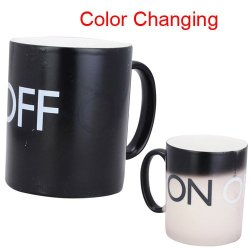 Gangnam Shop Magical On-Off Color Changing Mug With Cold Or Hot Drinks
