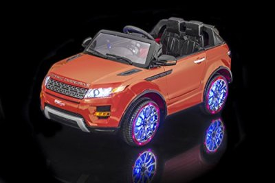 SPORTrax-Luxurious-Range-Rover-Style-Kids-Ride-On-SUV-Battery-Powered-Remote-Control-wFREE-MP3-Player-Orange
