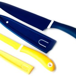 Gela 2-Piece Chef Utility Knife Set, Multicolored