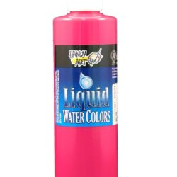 Handy Art By Rock Paint, 276-155, Washable Liquid Watercolor 1, Fluorescent Magenta, 8-Ounce
