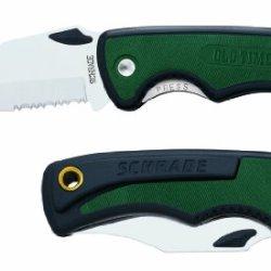 "Schrade 43Ot 3 7/8"" Pocket Beast Lockblade Knife With Pocket Clip"