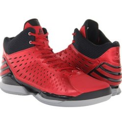 Adidas Men'S No Mercy 2014 Basketball Shoes Lt Scarlet/Black 9