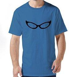 Pop Cat Eye Glasses Men Shirt