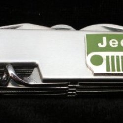 Jeep Stainless Steel Army Knife-13 Functions