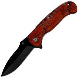 Whetstone Cutlery Speed-Safe Knife Black Ss Blade, Pakka Handle