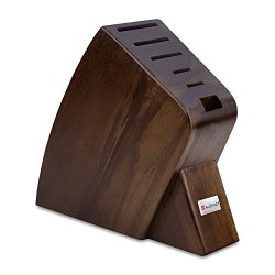 Wusthof Knife Block 6-Slot Walnut