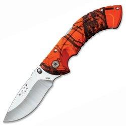 Buck Knives - Folding Omni Hunter 10 Pt, Mossy Oak Blaze And Black, Plain