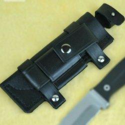 "Bushcraft/Hunting Real Leather Belt Sheath For 6"" Knife"