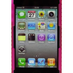 Nite Ize Cnt-Ip4-12Tc Connect Case For Iphone 4/4S - 1 Pack - Retail Packaging - Pink Translucent