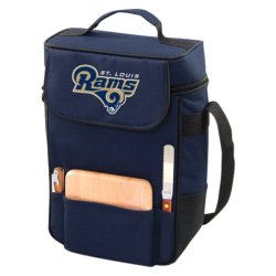 Saint Louis Rams St 2 Bottle Wine Tote Cooler Bag