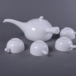 Granvela Tea Sets Tea Cups Pure Bone China Designed Artworks A Pot Of 4 Cups