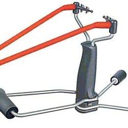 Trumark Slingshots Slingshot With Fiber Optic Sights & Stabiliser