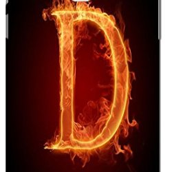 Phone Accessories Lovely 26 Fire Letter Character Cute Design Special For Samsung Galaxy Note 3 No.4