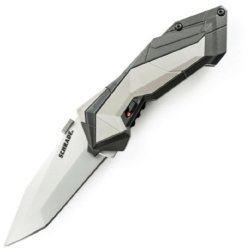 Schrade M.A.G.I.C. Assist Bead Blast Tanto, Ak Colored Handle, Grey Insert - Scha3Cp
