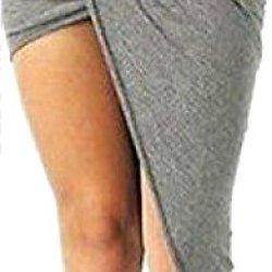 Kialishop Shear Knife Hand Wrapped Cotton Asymmetrical Pleats Knit Skirts