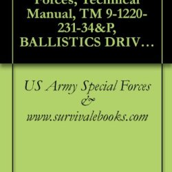 Us Army Special Forces, Technical Manual, Tm 9-1220-231-34&P, Ballistics Drive: M15, (1220-00-071-5330), 1983