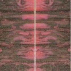 """Pink Zebra Genesis Acryl 2 Pc Mini Knife/Razor Scale 3/16""""X3/4""""X3"""" 300"""