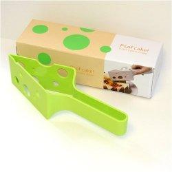 P'Sof Cake! Green Color Cake Slicer Cutter & Server