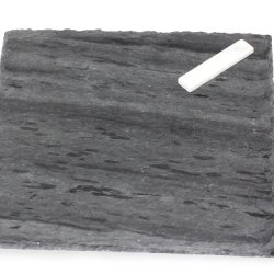 J.K. Adams Strata Slate Cheese Tray, Square, 8-Inches