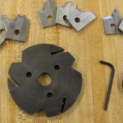 Corob Starter Kit: Mhk75 Molding Knife Head & 3 Sets Of Knives (#3,15,21)