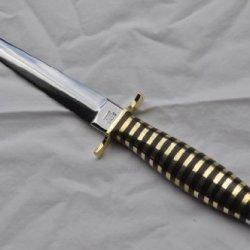 Genuine Wasp Handle Commando Knife Sheffield Fairbairn Sykes
