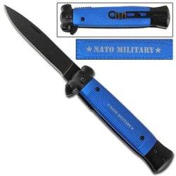 Striker Spring Assisted Knife - Nato Blue