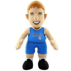 Nba Dallas Mavericks Dirk Nowitzki 14-Inch Player Plush Doll