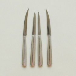 4 Pcs Carving Knife Set Sculpture For Food Fruit Knives Aluminum Handle