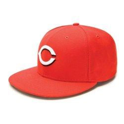 Cincinnati Reds Mlb Authentic Baseball Cap 7-3/8 Osfa - Like New