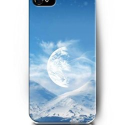 Exquisite Colored Pattern - Big Half Moon On The Sky - Ukase Back Case Cover Protector Skin For Iphone 5/5S