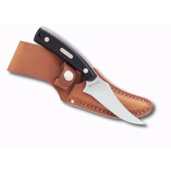 Schrade Old Timer, Sharpfinger, Sure Grip Handle, Leather Sheath